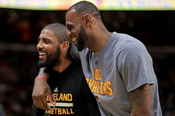 """Kyrie Irving """"Genuinely Interested"""" In Teaming With LeBron Again: Report"""