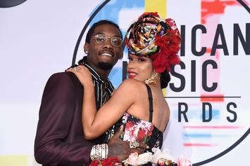"Cardi B Caught FaceTiming ""Significant Other"" Offset At LAX"