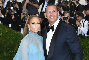 "A-Rod Says He's ""Meant To Be"" With Jennifer Lopez On Two Year Anniversary"