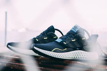 "Adidas ZX4000 4D ""Carbon"" New Images Revealed"