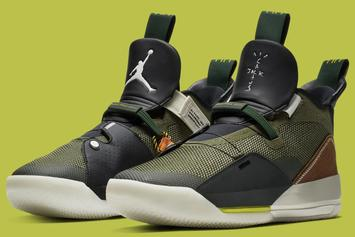 "Travis Scott X Air Jordan 33 ""Cactus Jack"" Release Information"