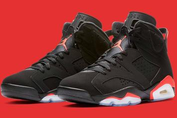 """Air Jordan 6 """"Infrared"""" Release To Have Plenty Of Stock"""