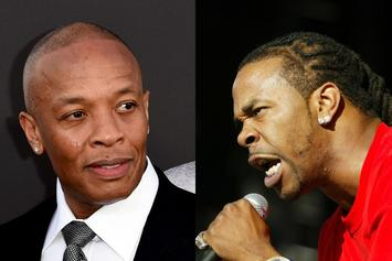 """Busta Rhymes Enlists Dr. Dre For New Album's """"Finishing Touches"""""""