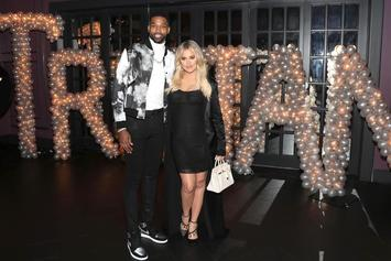"Tristan Thompson Spent V-Day ""Hitting Up Girls"" Without Khloe Kardashian"
