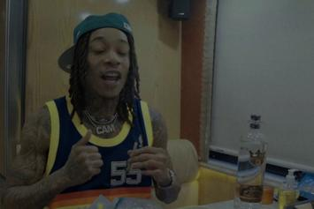 "Wiz Khalifa & Curren$y Link Up For ""The Life"" Music Video"