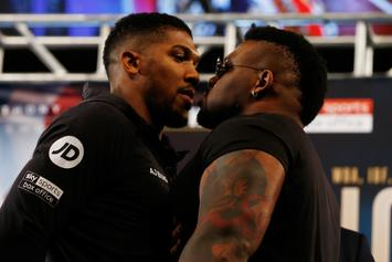 """Anthony Joshua Has A """"Rematch Clause"""" In Contract Says Jarrell Miller"""