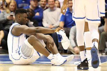 Duke's Zion Williamson Has $8M Loss Of Value Insurance Policy: Report