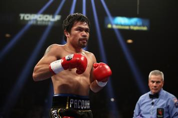 Manny Pacquiao Is Discouraging Son From Pursuing Boxing Careeer