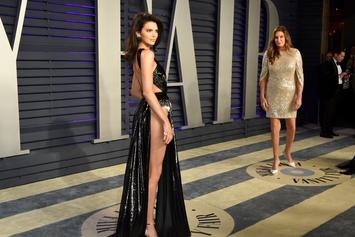 Kendall Jenner Goes Without Underwear At Academy Awards After-Party