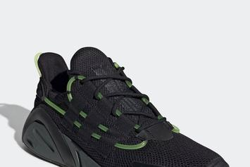"""Adidas LXCON """"Black/Green"""" Release Details"""