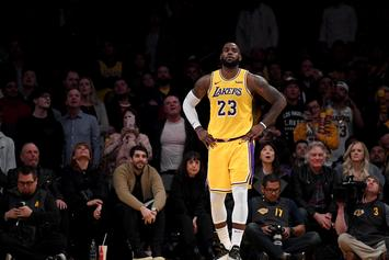 LeBron James Says There's No Time For Distractions As The Lakers Make Playoff Push