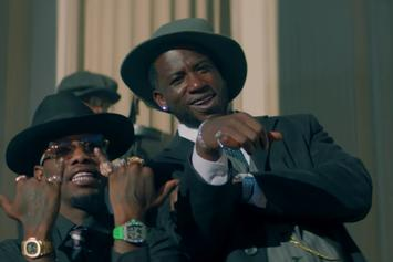 "Offset & Gucci Mane Star In Retro Western In ""Quarter Milli"""