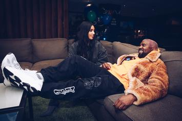 Kanye West & Kim Kardashian Ponder Life's Mysteries Over Cereal