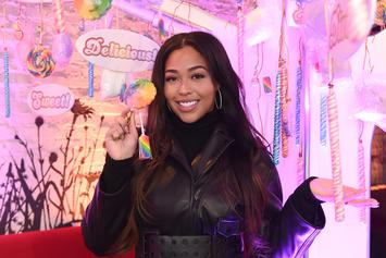 """Jordyn Woods Changes Her Tristan Thompson Story On """"Red Table Talk"""""""