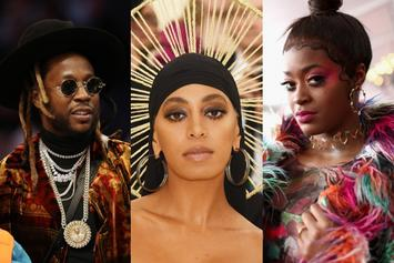 "2 Chainz, Solange & Tierra Whack Conquer This Week's ""FIRE EMOJI"" Playlist"