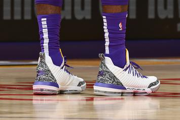 "LeBron James Nods To Michael Jordan With ""Air Jordan 3"" LeBron 16s"