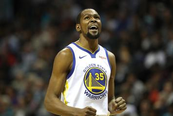 Kevin Durant Suffered An Ankle Contusion In Warriors Loss To The Suns
