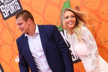 Rob Gronkowski's GF Camille Kostek Claps Back At Body-Shamers