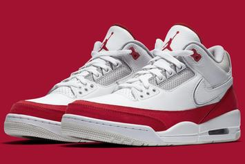 """Air Jordan 3 """"University Red"""" Gets Official Images From Nike"""