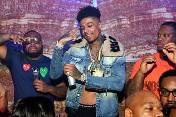 "Blueface Teases The Ladies With Provocative ""Thotiana"" Performance"