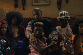 """Vic Mensa Taps Into His African Roots For """"Metaphysical"""" Visual"""