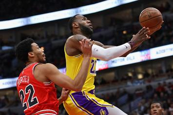 """LeBron James Records Triple-Double In Lakers Victory: """"I Play To Win"""""""