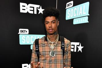"Blueface Responds To 6ix9ine's Baby Mama Claiming She Made ""Thotiana"" A Hit"