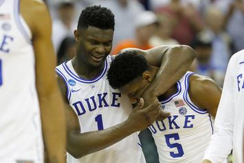 Zion Williamson & Duke Feast At Mastro's Before Sweet 16 Game