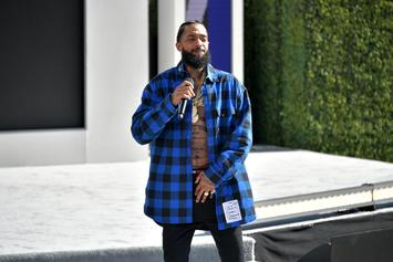 Nipsey Hussle Is Dominating iTunes & Amazon's Music Charts In Wake Of Death
