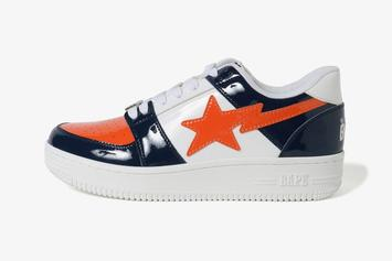 BAPE To Release Three Bapesta Colorways This Weekend: Details