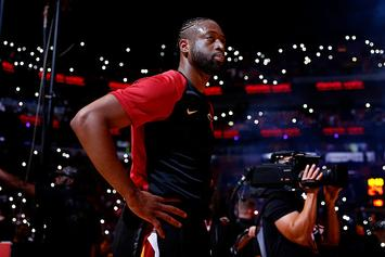 "Dwyane Wade On Dealing With Life After Basketball: ""I'll Be In Therapy. Seriously"""