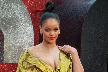 """Rihanna Is Still Trolling Thirsty Fans Over """"The Album"""" Holdup"""