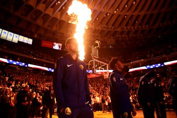 Golden State Warriors Bid Farewell To Oracle Arena With Special Banner
