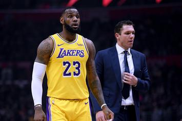 LeBron James Defends Luke Walton From Harsh Lakers Criticism