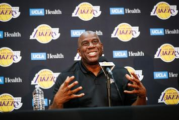 Magic Johnson Abruptly Steps Down As Lakers President of Basketball of Operations