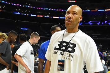 """LaVar Ball Weighs In On Magic Johnson, Lakers: """"The System Is Crumbling Down"""""""
