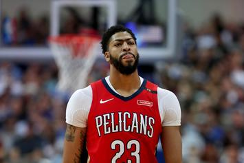 """Anthony Davis Doesn't Regret Trade Request: """"It's Over With Now"""""""