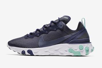 "Nike React Element 55 Dropping In ""Dark Obsidian"" Colorway"