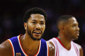 Derrick Rose Brown Down In Tears After Being Traded to Knicks In 2016: Video