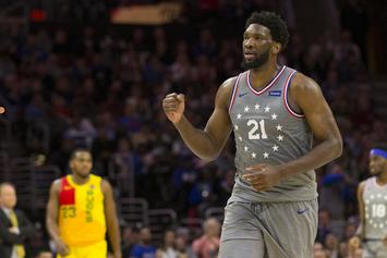 Joel Embiid At Risk Of Missing Game 1 Of The NBA Playoffs: Report
