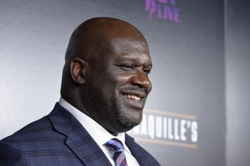 "Shaq Hilariously Attempts To Buss It Down To ""Thotiana"""