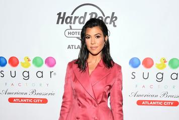 Kourtney Kardashian Displays NSFW Cake Of Herself At 40th Birthday Party
