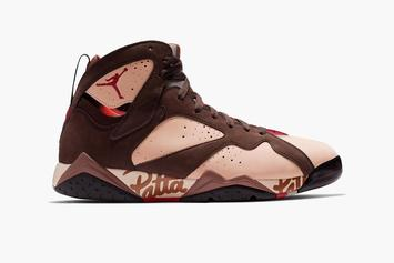 28fa5b3ee6d Patta x Air Jordan 7 Collab Releasing In Two Colorways: First Look