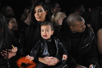 Kim Kardashian's Daughter North West Throws Adorable Fit Over Boots