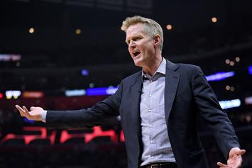 "Steve Kerr Blasts Patrick Beverley For Flopping: ""He's Going To Get Whiplash"""