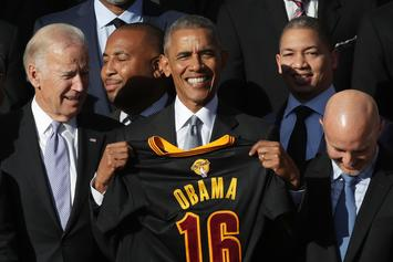 """Joe Biden Slips Up With Allusion To """"N Word"""" In Obama Picture Post"""