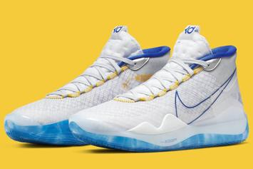"""Nike KD 12 """"Warriors"""" Release Date Confirmed: Official Images"""