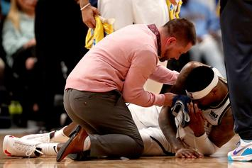 Torrey Craig Suffers Bloody Broken Nose In Game 2 Against The Blazers