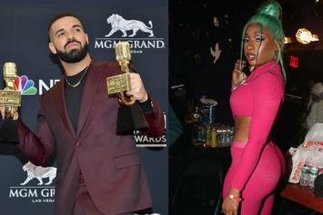 "Drake & Megan Thee Stallion Hug It Out In ""Friends In Vegas"" Photo"