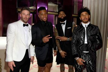 Odell Beckham Jr Hits Up Met Gala With Saquon Barkley & Julian Edelman